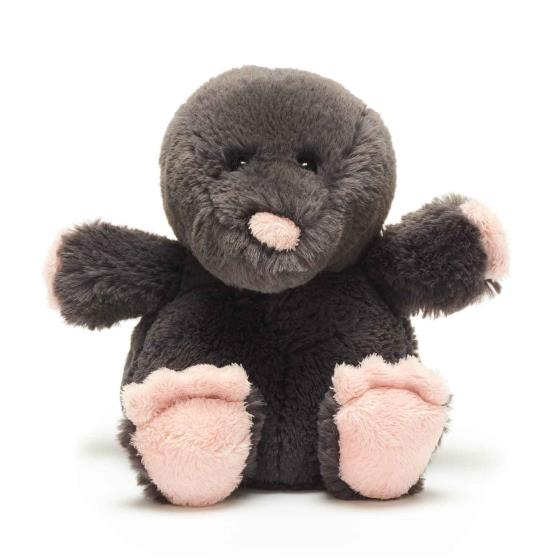 Florence the mole plush beanie toy 20cm product photo Default L