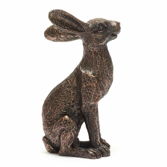 Mini alert hare sculpture product photo Side View -  - additional image 3 L