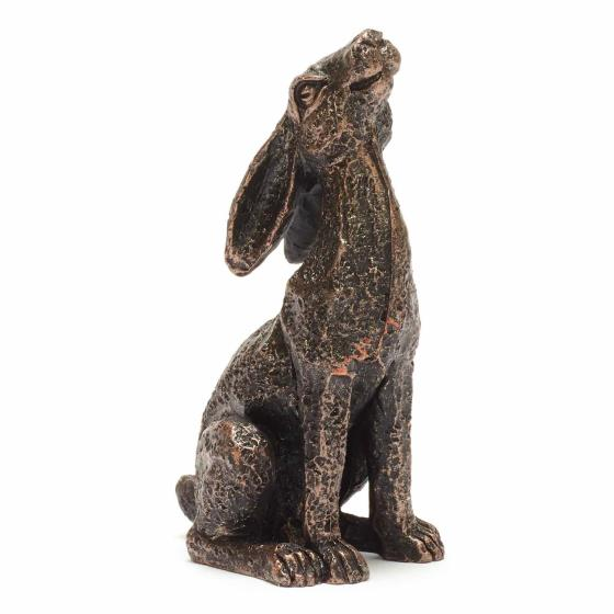 Mini moongazing hare sculpture product photo