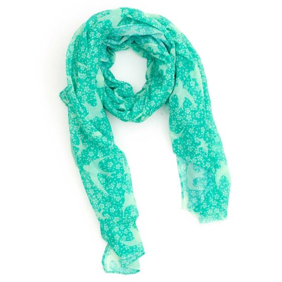 swift-ditsy-rspb-cotton-scarf-mint product photo Default L
