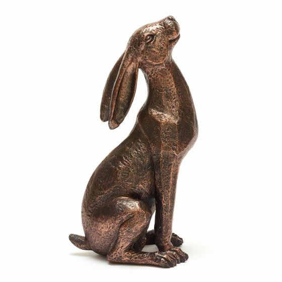 Moongazing hare sculpture product photo Side View -  - additional image 3 L