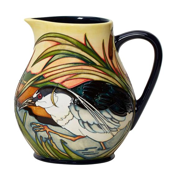 Moorcroft jug, Night Herons product photo