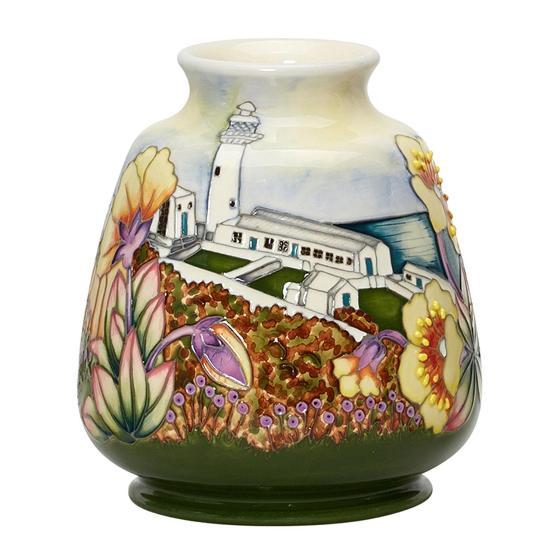 Moorcroft vase, Spotted Rock-Rose product photo Side View -  - additional image 3 L