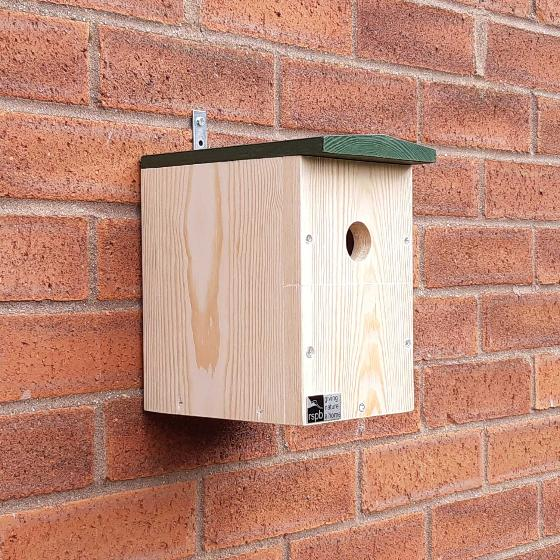 RSPB Multi-species nest box product photo Side View -  - additional image 3 L