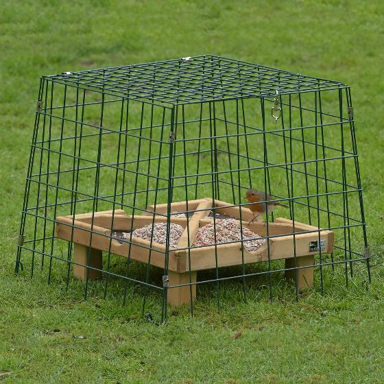 Ground feeding sanctuary wide mesh product photo Back View -  - additional image 2 L