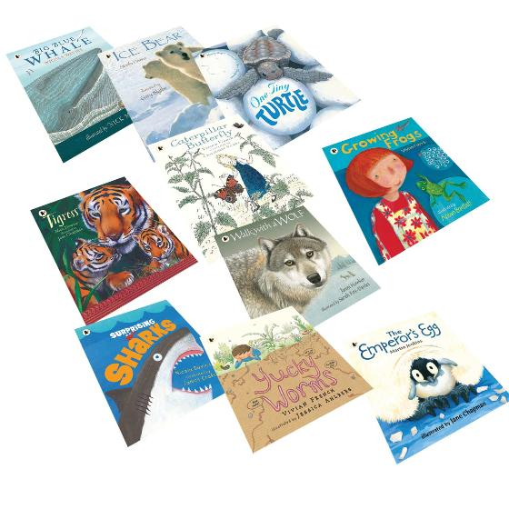 Nature Storybooks collection box set product photo Side View -  - additional image 3 L