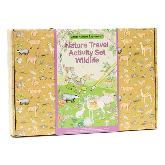 Nature travel activity set, wildlife product photo Front View - additional image 1 L