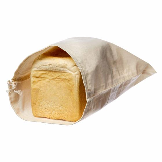Organic produce & bread bags - 3 pack product photo Back View -  - additional image 2 L