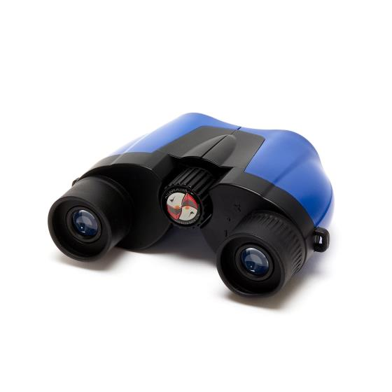 Puffin Jr children's binoculars, blue product photo Side View -  - additional image 3 L