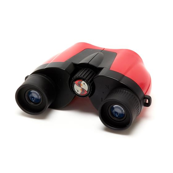 Puffin Jr children's binoculars, red product photo Side View -  - additional image 3 L
