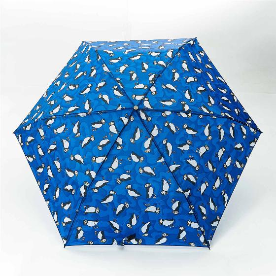 Puffin mini umbrella product photo Back View -  - additional image 2 L