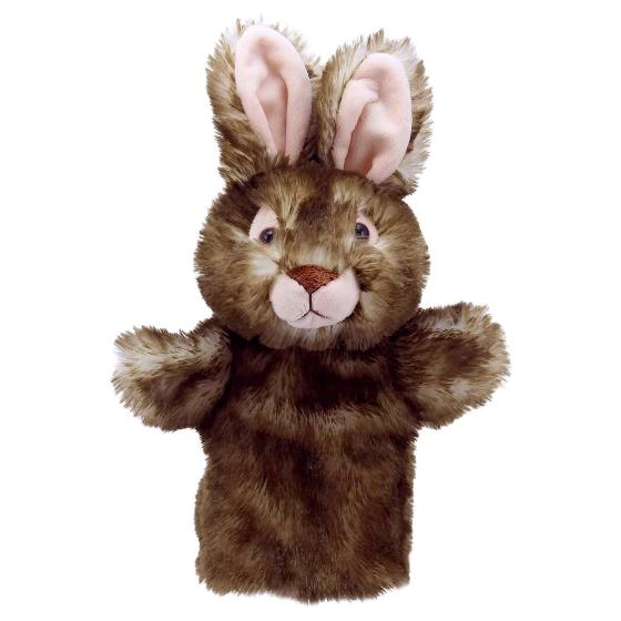 Wild rabbit hand puppet product photo Default L