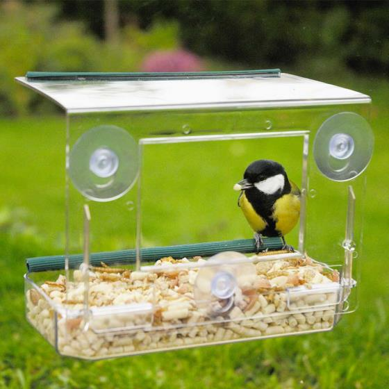 Window bird feeder product photo Default L