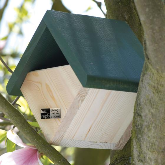 RSPB Robin and wren diamond nestbox product photo Default L