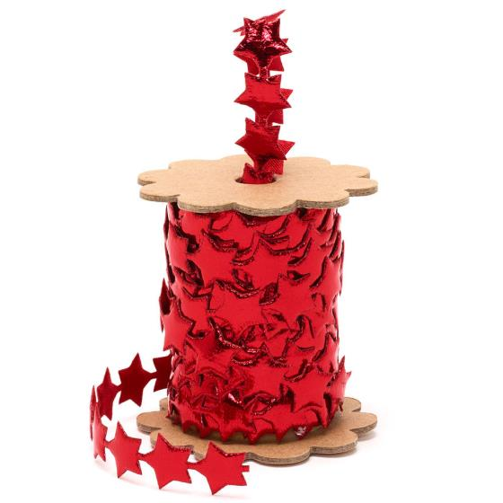 Red star ribbon product photo