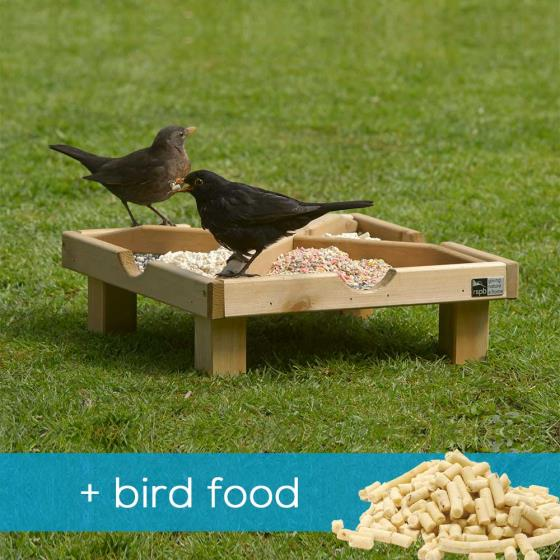 RSPB Ground feeding table & food offer product photo Default L