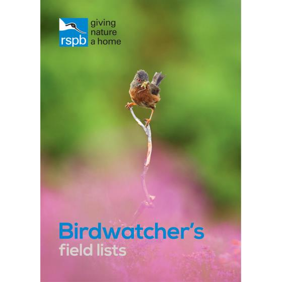 Birdwatcher's Field Lists RSPB product photo Default L