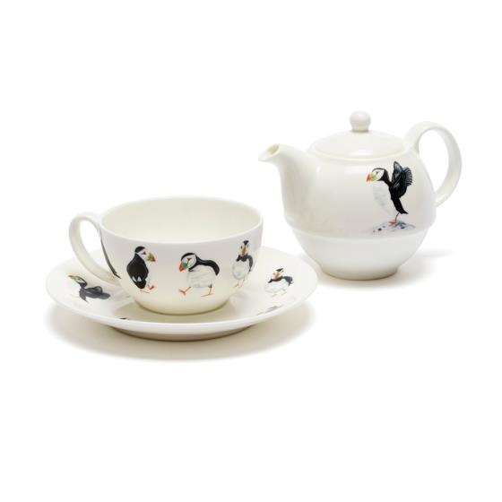 Puffin parade tea set product photo Default L