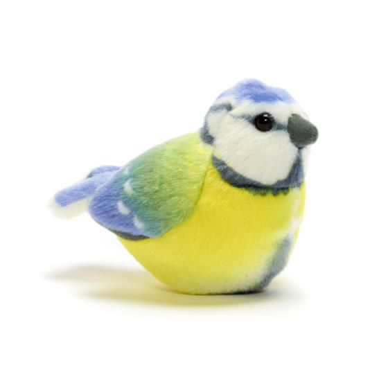 RSPB singing soft toy blue tit product photo Default L