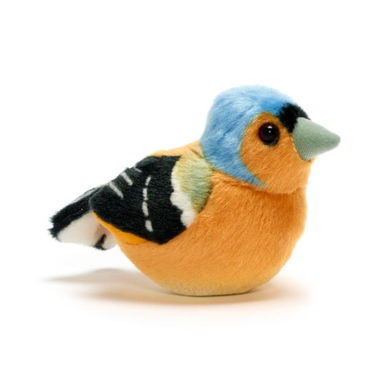 RSPB singing chaffinch soft toy product photo Default L