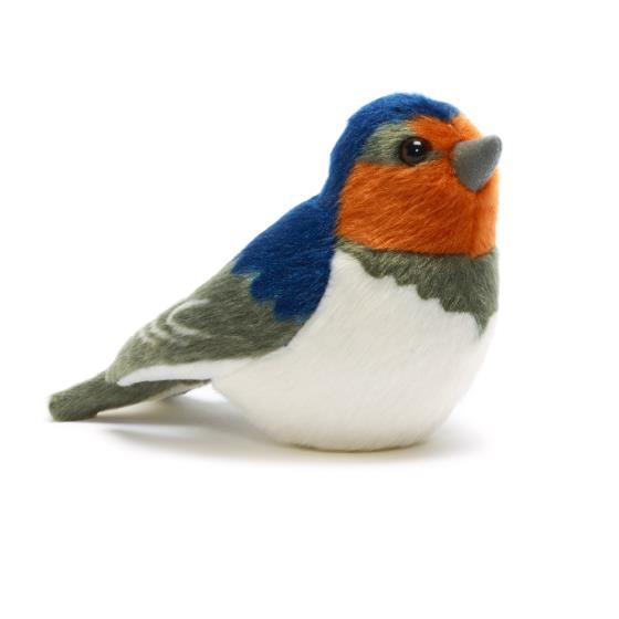 RSPB singing barn swallow soft toy product photo Default L