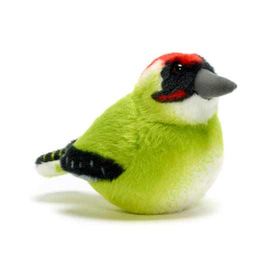 RSPB singing green woodpecker soft toy product photo Default L