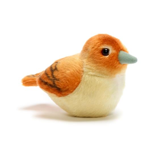RSPB singing nightingale soft toy product photo Default L