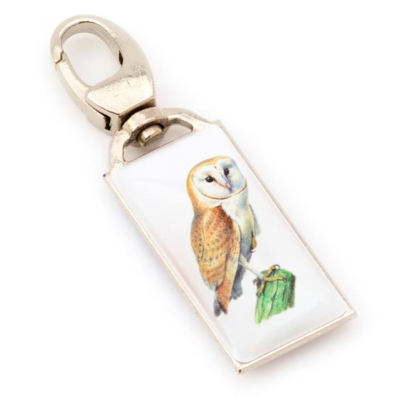 Zip Buddy, RSPB barn owl product photo Default L