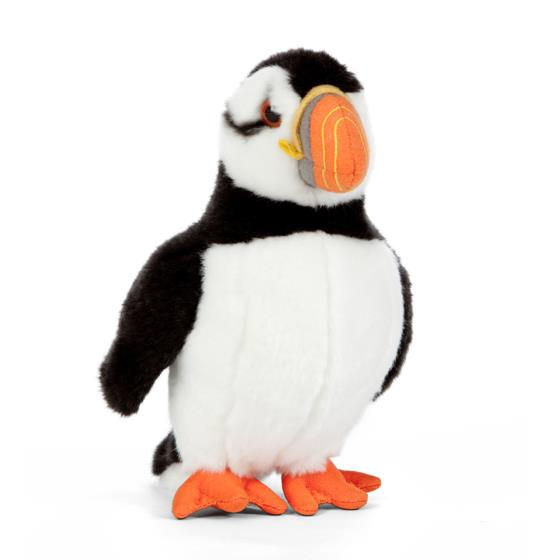 Large puffin soft plush toy product photo Default L