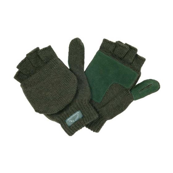 Knitted mitts green L/XL product photo Default L
