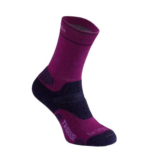 Ladies Bridgedale Trekker socks M product photo Default L