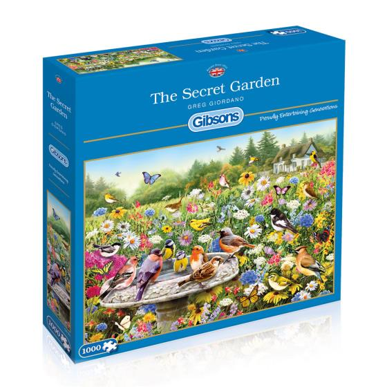 The Secret Garden jigsaw product photo Default L