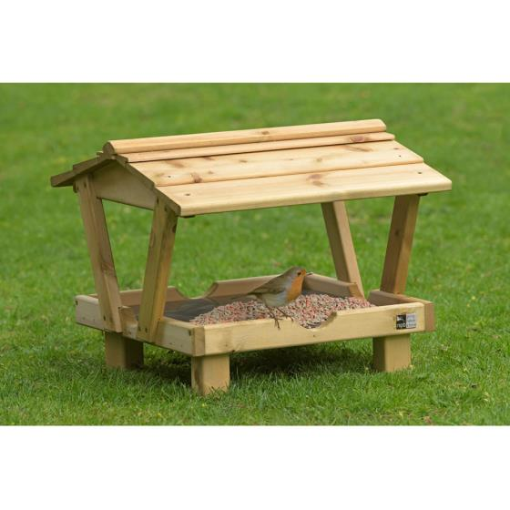 RSPB Ground table with roof product photo Default L