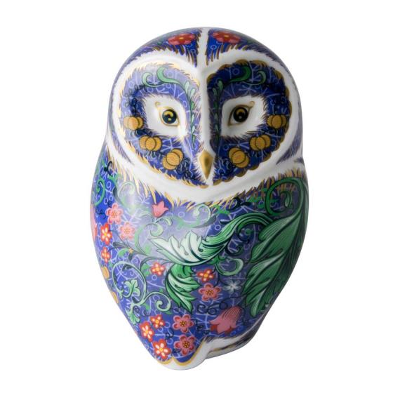 Royal Crown Derby, Periwinkle owl product photo Default L