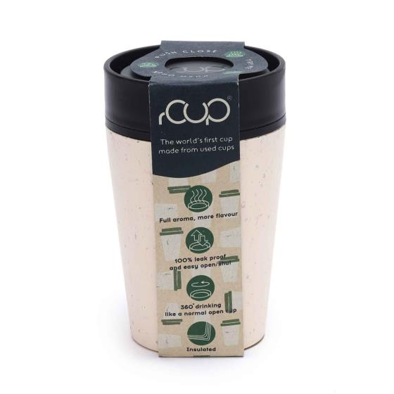 RSPB rCUP - reusable leak proof insulated mug, 227ml product photo Front View - additional image 1 L