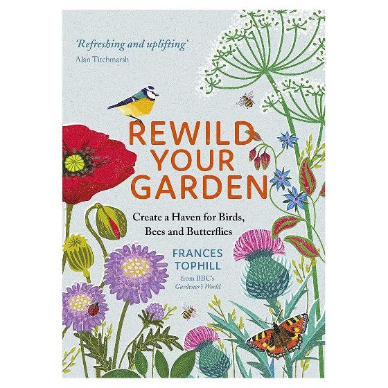 Rewild your garden: create a haven for birds, bees and butterflies product photo Default L