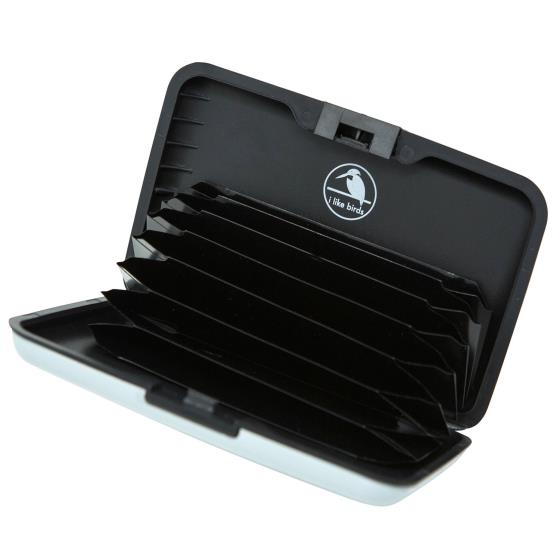 RFID credit card protection wallet, swallow product photo Side View -  - additional image 3 L