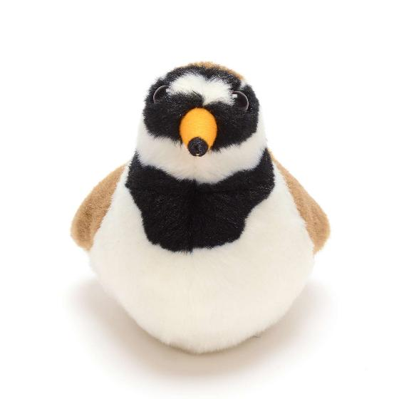 RSPB singing ringed plover soft toy product photo Side View -  - additional image 3 L