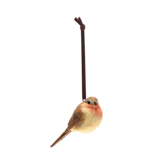 Robin hanging tree decoration product photo