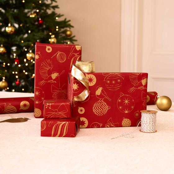 Robin recyclable wrapping paper product photo Default L