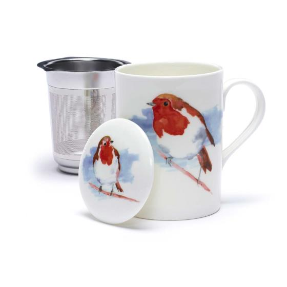 Robin infuser mug product photo