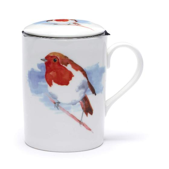 Robin infuser mug product photo Side View -  - additional image 3 L