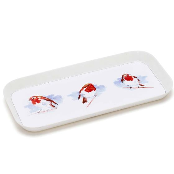 Robin tea tray product photo