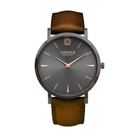 Robin watch - vintage brown strap product photo