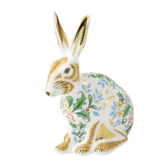 Royal Crown Derby, Winter hare product photo Default L