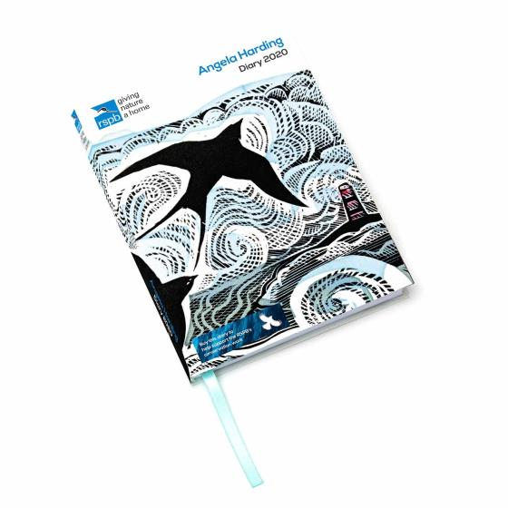 RSPB Angela Harding A6 pocket diary 2020 product photo