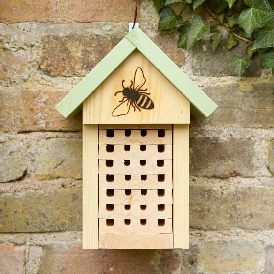 Solitary bee home product photo Side View -  - additional image 3 L