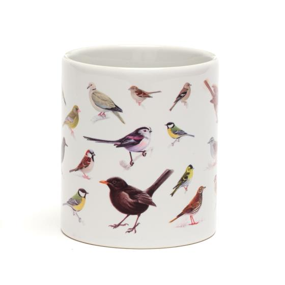 RSPB Garden birds mug product photo Side View -  - additional image 3 L