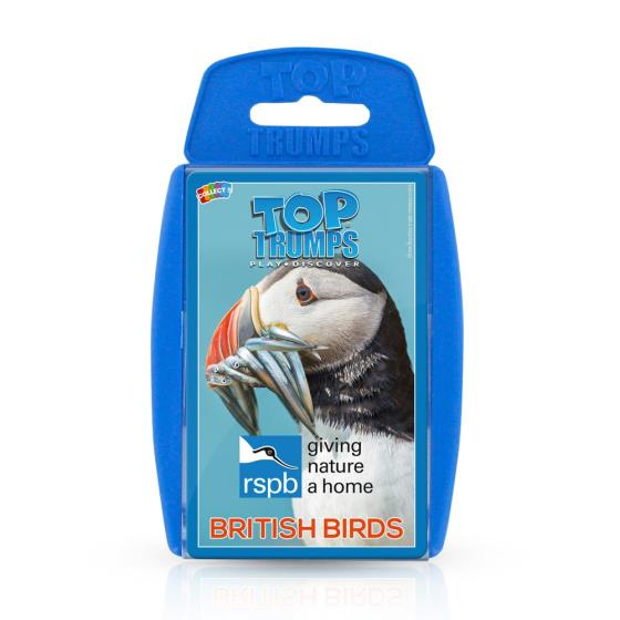 RSPB British Birds Top Trumps product photo