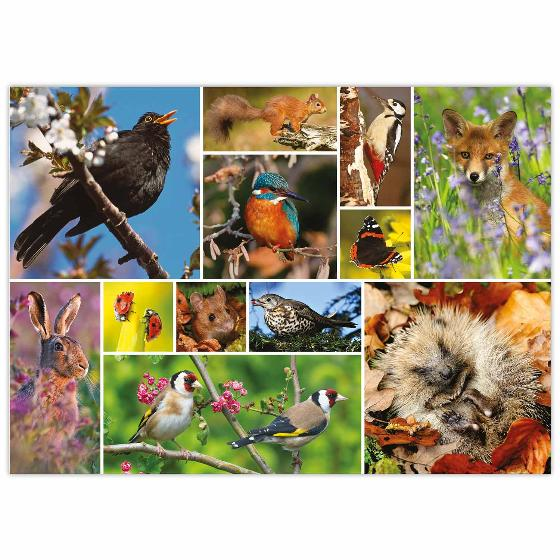 RSPB British wildlife jigsaw product photo Side View -  - additional image 3 L